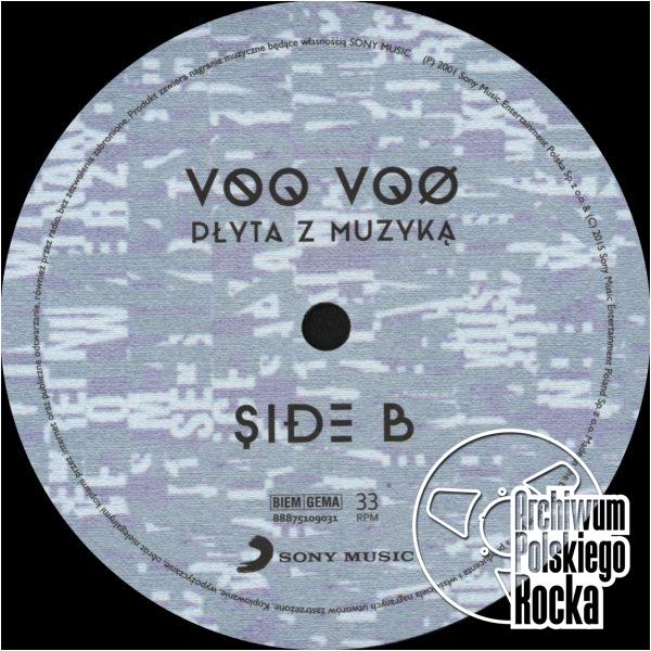 Voo Voo - Płyta z muzyką