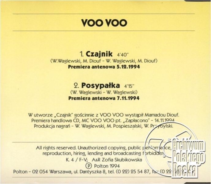 Voo Voo - Czajnik