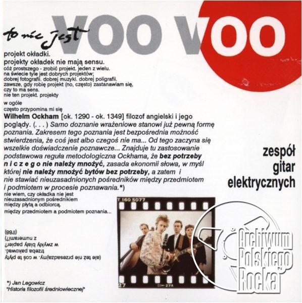 Voo Voo - Zespół gitar elektrycznych