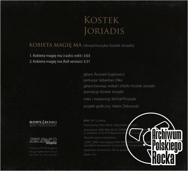 Kostek Yoriadis - Kobieta magię ma